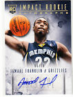 Jammal Franklin 2013-14 Panini Intrigue RC Gold Auto 6 10 SSP Rookie