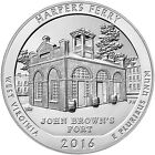 2016 25c 5 Troy Oz Silver ATB America the Beautiful Harpers Ferry Coin SKU41212
