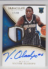 VICTOR OLADIPO 2013-14 Immaculate 4 Color Rookie Patch Auto #D 17 99 Magic RC