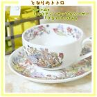 My Neighbor Totoro Coffee Cup and Saucer Noritake Ghibli Greenbrier Japan Import