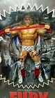 Ultimate Warrior USA 1 of 15 Unmatched Fury Signed w/COA Ultimate Creations