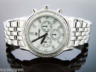 Men's Icetime 40mm Round marquis 0.10ct Diamonds Watch M-O-P white face