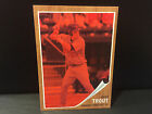 2011 MIKE TROUT TOPPS HERITAGE RC ROOKIE #537 620 NON AUTO RED TINT CARD #44