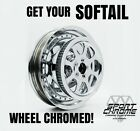 Get Your Softail Wheel Chrome Plated by Sport Chrome with a LIFETIME WARRANTY!