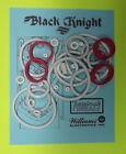 1980 Williams Black Knight pinball rubber ring kit