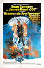 Diamonds Are Forever R1980 US One Sheet Poster