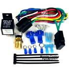 Jeep CJ Radiator Fan Relay Wiring Kit Works on Single Dual FansPre Set