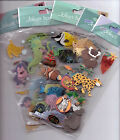 Jolees ANIMAL  BIRD themed embellishment stickers NICE USEFUL Quick Ship