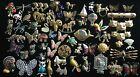 VINTAGE FIGURAL ANIMAL BROOCH PIN JEWELRY LOT CATS DOGS BIRDS 58 PCS JELLY BELLY