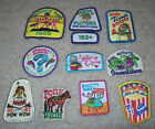 Lot of 10 Girl Scout Brownie PATCHES WoW