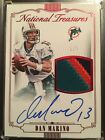 2015 National Treasures DAN MARINO Materials PRIME GU Patch On-Card Auto #1 5 SP