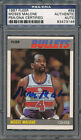 1987 88 Fleer #69 Moses Malone PSA DNA Certified Authentic Auto Autograph *3146