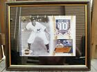 Phil Rizzuto Yankee Auto 2003 UDA 80 350 Serial COA Framed Collector Card Plaque