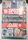 2013 Score Football Wax Box 36 packs per box 12 cards per pack - HOBBY