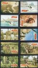Planet of the Apes Movie 1968 A and B Set Complete 44 Cards High Grade