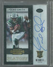 GENO SMITH RC AUTOGRAPH # 99 2013 CONTENDERS PLAYOFF TICKET AUTO