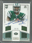 GENO SMITH RC QUAD PATCH AUTOGRAPH # 25 2013 NATIONAL TREASURES