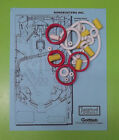 1989 Gottlieb / Premier Bone Busters Inc. pinball rubber ring kit
