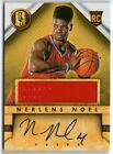 NERLENS NOEL 2014 GOLD STANDARD ROOKIE AUTO AUTOGRAPH RC JERSEY CARD!