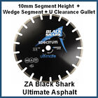 Spectrum Diamond Cutting Blade - ZA Zebra - Black Shark - Ultimate Asphalt