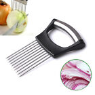 Stainless Steel Onion Holder Slicer Vegetable Tomato Cutter Kitchen Tools Gadget