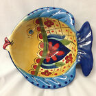 TABLETOPS UNLIMITED ESPANA TOLUCA SCULPTED FISH BOWL 8 1/4