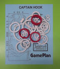 1985 Game Plan Captain Hook pinball rubber ring kit