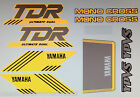 YAMAHA TDR50 TDR80 MINI TDR250 PAINTWORK DECAL SET