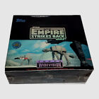 STAR WARS 1995 THE EMPIRE STRIKES BACK WIDEVISION MOVIE CARDS TOPPS SEALED BOX