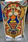 Stern Memory Lane Semi populated Playfield 1978 Pinball Machine