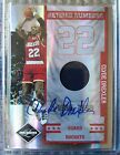 CLYDE DREXLER 2008-09 LIMITED RETIRED NUMBERS AUTO JERSEY 28 49 AUTOGRAPH ROCKET