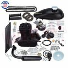 50cc Bike Bicycle Motorized 2 Stroke Cycle Black Motor Engine Kit