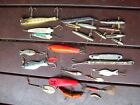 26 x Old Used Fishing Lures