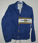 Vintage Michigan Wolverines Sir Jac Mens Jacket Size Small Stitched Throwback