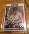 2005 Topps Retired Signature Ron Santo Signed Autographed Uncirculated Card