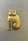 VTG LAUREL BURCH KITTY CAT PIN/PENDANT! CUTE KITTY...SEE!