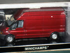 Minichamps 2000 Ford Transit Cargo Box Van Truck 1 43 Diecast Limited Edition