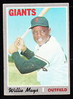1970 TOPPS #600 WILLIE MAYS GIANTS