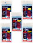Ultra Pro 100 Pcs Soft Card Sleeves 2 5 8 x 3 5 8-Inches (5 Pack) Save Cards