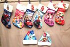 Disney  Marvel 18 Christmas Stocking with Fur Cuff BNWT FabricMulti Color