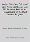 Weight Watchers Quick and Easy Menu Plume