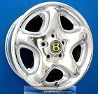 BENTLEY ARNAGE 17 INCH CHROME WHEELS RIMS 17 FACTORY OEM GREEN LABEL