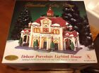 Heartland Valley Village TRAIN STATION Limited Edition Collectable O'Well 2002