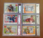 Lot of (6) Topps All-American Football Cards - 1955 - All Graded