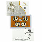 2014 PRESIDENTIAL 1 GOLDEN DOLLAR GEM PROOF DCAM 4 COIN SET with box and COA