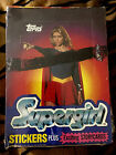NEW SUPERGIRL HELEN SLATER WAX BOX TRADING CARDS TOPPS 1984 36 PACKS + STICKERS