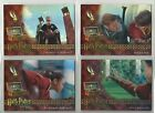 2005 Harry Potter: Sorcerer's Stone BOX TOPPER Complete Set of 4 Cards (BT1-BT4)
