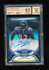 TORREY SMITH 2011 BOWMAN STERLING BLACK REFRACTOR AUTO RC # 50 *49ERS