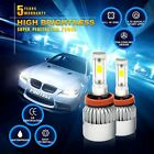 H11 H9 H8 980W 147000LM CREE LED Headlight Kit Low Beam 6000K White High Power