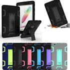 Shockproof Box Kids Heavy Duty Cover Case Stand For LG G Pad 3 80 4G LTE Tablet